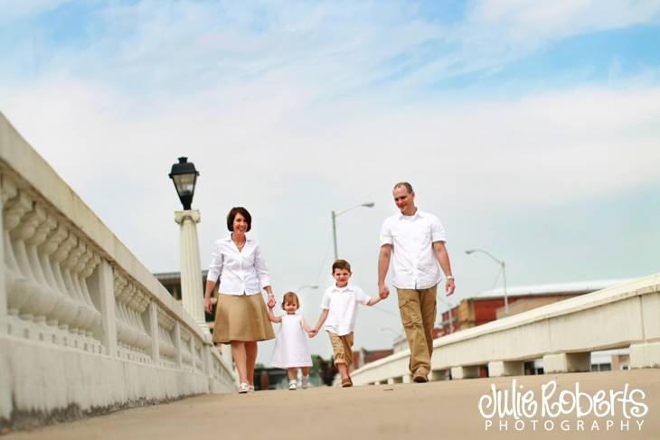The Hopland Family, Julie Roberts Photography