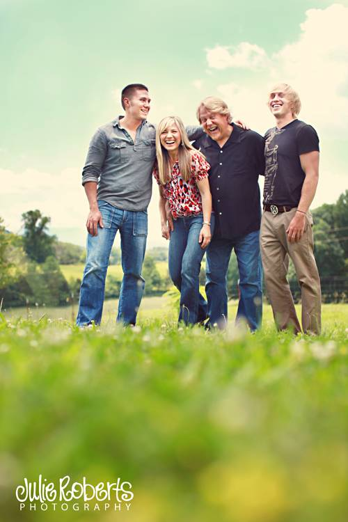 The McAlpin Family - Family Portraits - Knoxville, Sevierville, East Tennessee, Julie Roberts Photography