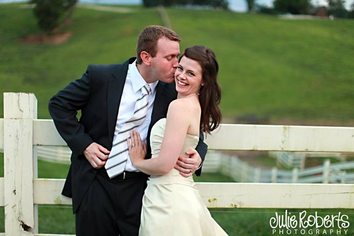 John Mark Woodard and Claire Fisher are now Mr. & Mrs!, Julie Roberts Photography