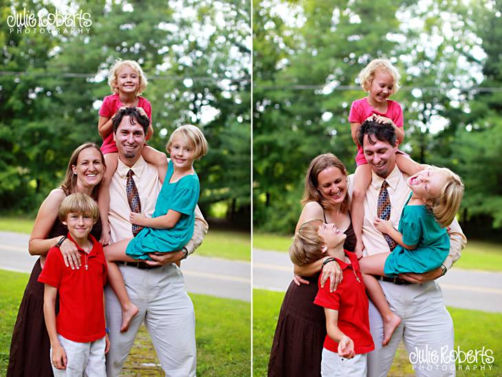 Pastor Larry Warren and his Family, Julie Roberts Photography