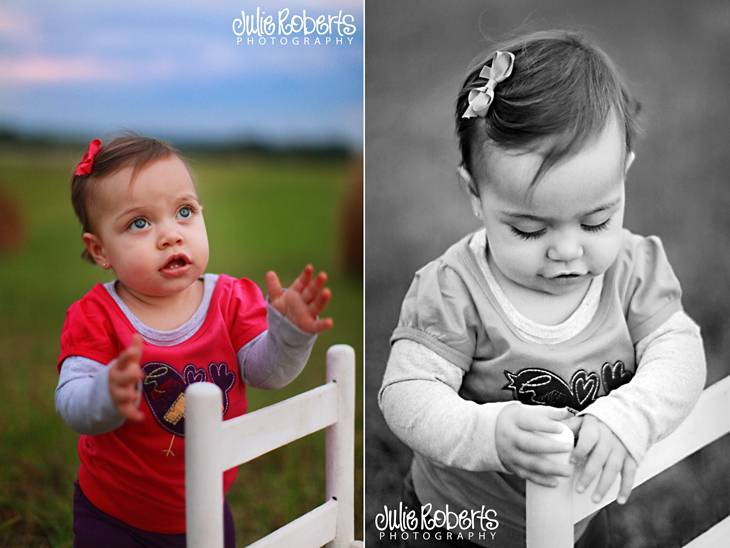Eliza Mae is a year old!, Julie Roberts Photography