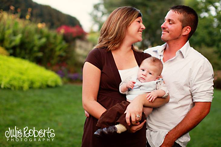 The Ferree Family - Broedy is 3 months old!, Julie Roberts Photography