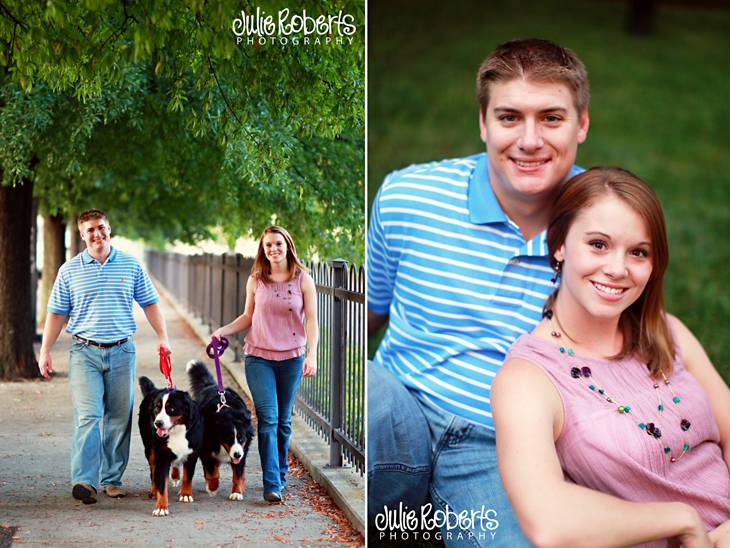 Shelly & Brandon are engaged!, Julie Roberts Photography