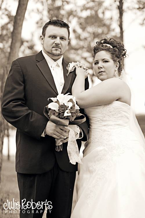 Tasha Cook & Brandon Watson - Married !, Julie Roberts Photography