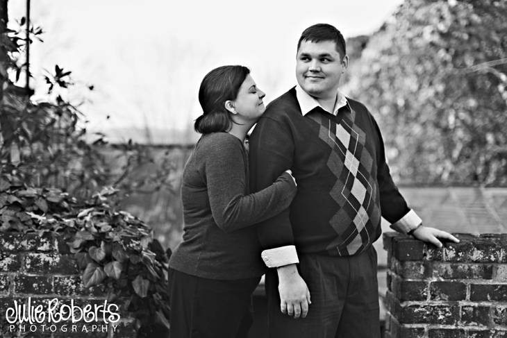 Merry Christmas from Brett, Becca, and Fritz Allen Boren, Julie Roberts Photography