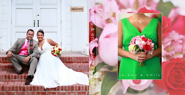 Wedding Album Designs for 2009, Julie Roberts Photography