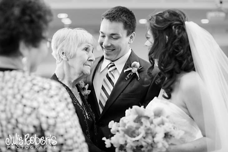 Melissa Crump and David Dandurand are married!  Knoxville Wedding Photography, Julie Roberts Photography