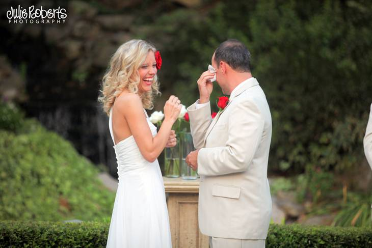 Amy Tallmadge and Kevin Kreissl :: Married at Little Gardens, Atlanta, GA, Julie Roberts Photography