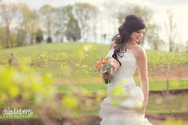 Heather Griffin :: A Beautiful Bride :: Castleton Farms, Tennessee, Julie Roberts Photography
