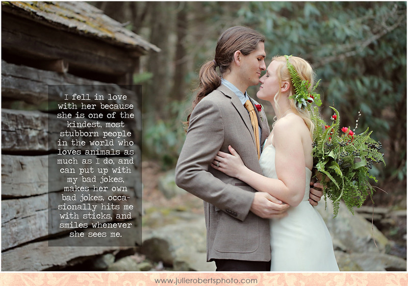 Olivia + Justin :: LOVE ALIVE :: Knoxville Wedding Photographer, Julie Roberts Photography