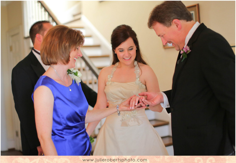 Beth Sanders and Adam Tuesburg - Married!!!  Maple Grove Inn Wedding, Knoxville TN, Julie Roberts Photography