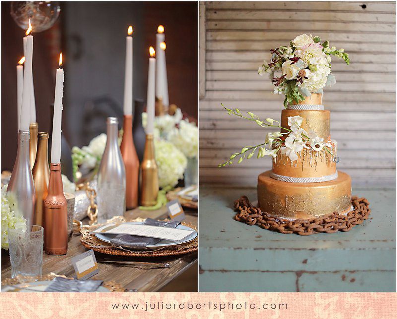 Rustic, Industrial Styled Shoot at The Standard, Knoxville Tennessee, Julie Roberts Photography