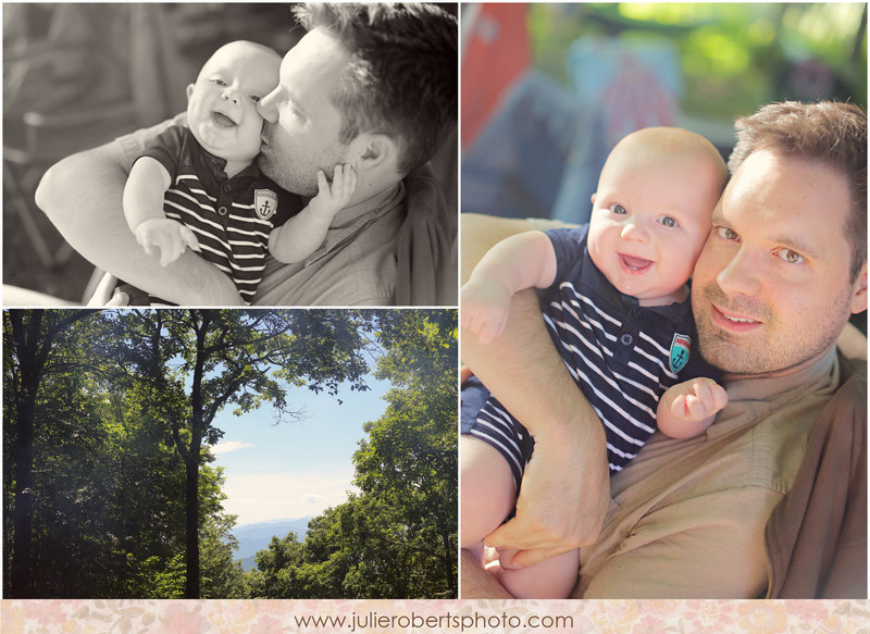 Baby August is SIX months old!, Julie Roberts Photography