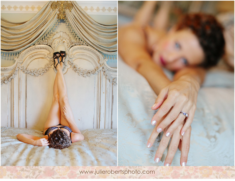 My friend Lori's lovely boudoir session ... Knoxville Tennessee Boudoir Photogrpahy, Julie Roberts Photography