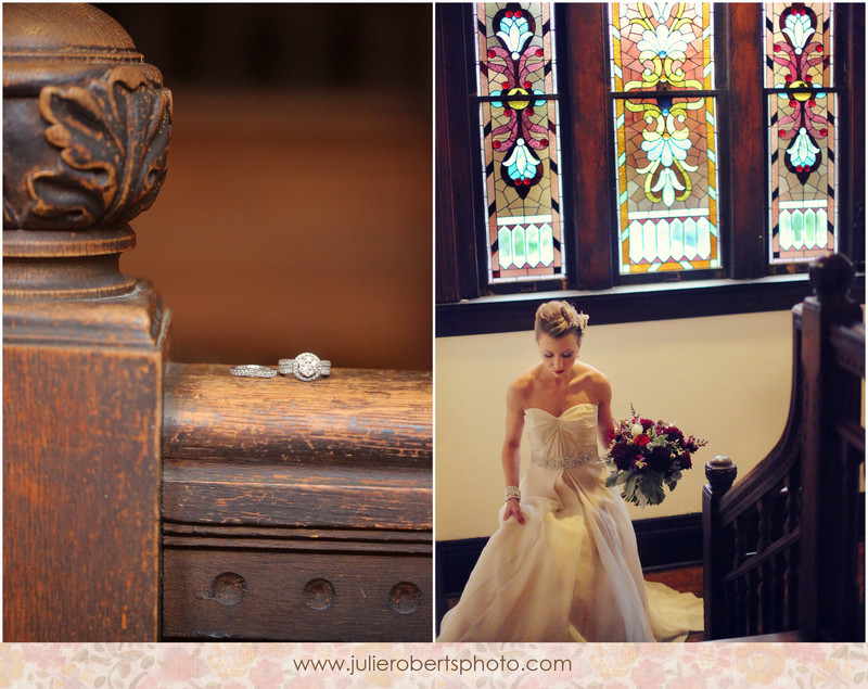 Winter Wedding Inspiration by LB Floral at Historic Westwood, Knoxville Tennessee, Julie Roberts Photography
