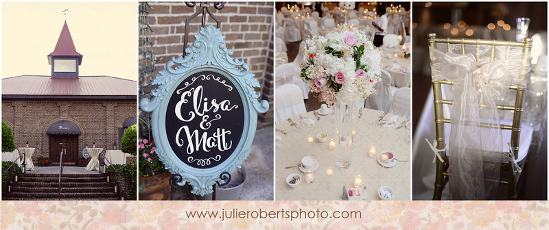"Elisa Wilhoit + Matt Crawford say ""I Do!"" - Knoxville Wedding Photography, Julie Roberts Photography"