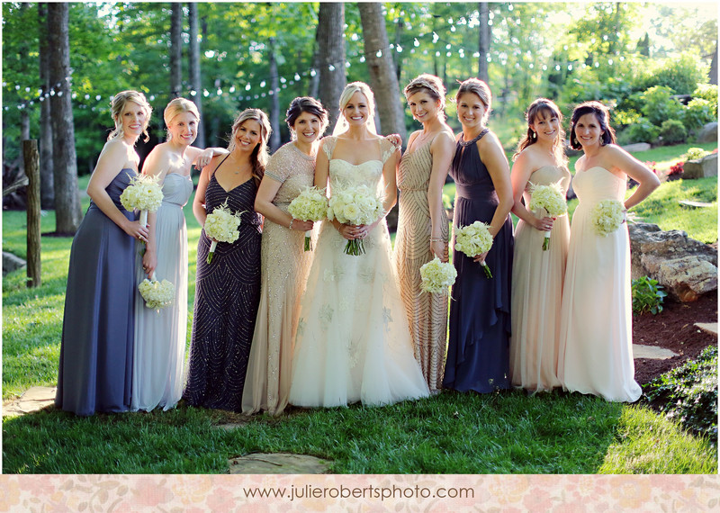 Megan Sykes and Aaron Tannenbaum PART ONE :: Tennessee Wedding at Castleton Farms, Julie Roberts Photography