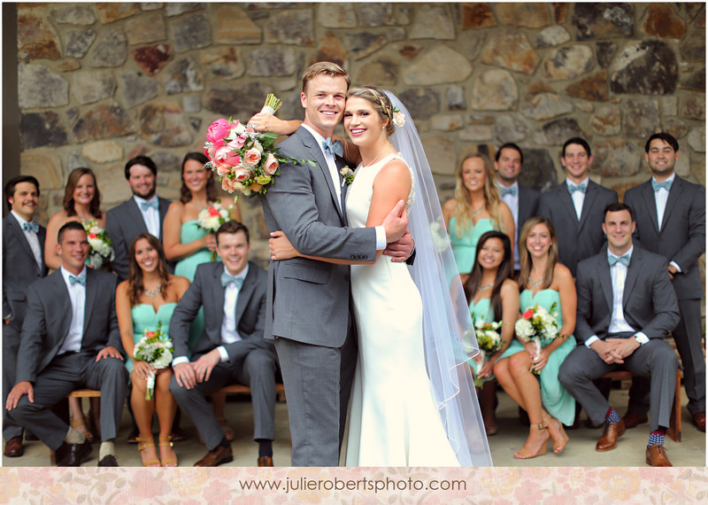 Abi Edwards and Oliver Benton :: Gatlinburg Wedding @ Arrowmont School of Arts, Julie Roberts Photography