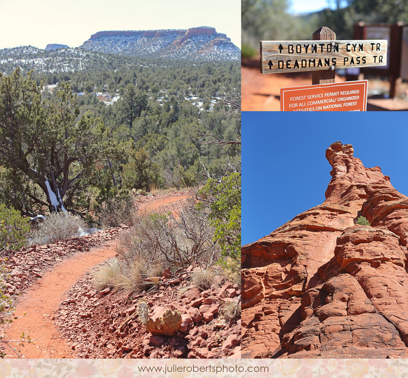 A day in Sedona :: The Boynton Canon Vortex, Vista Trail, Kochina Woman, Warrior Man, Julie Roberts Photography
